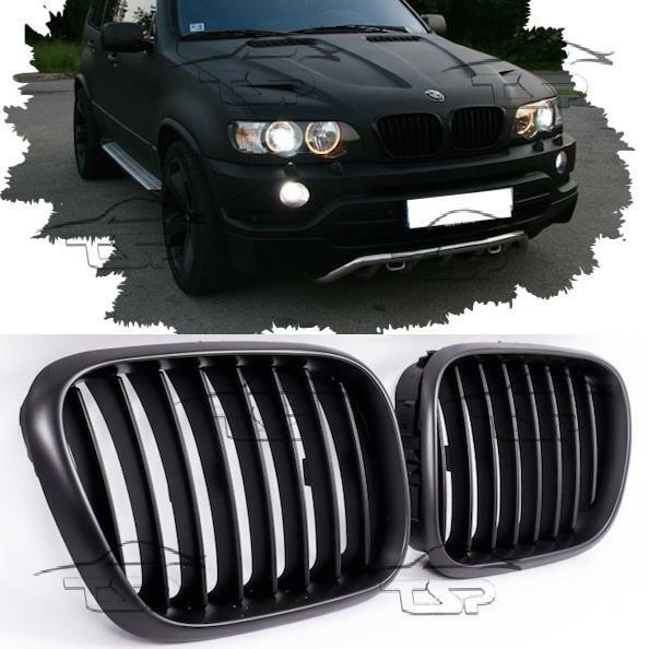 FRONT GRILLS BLACK SPORT FOR BMW X5 E53 99-03 SPOILER BODY
