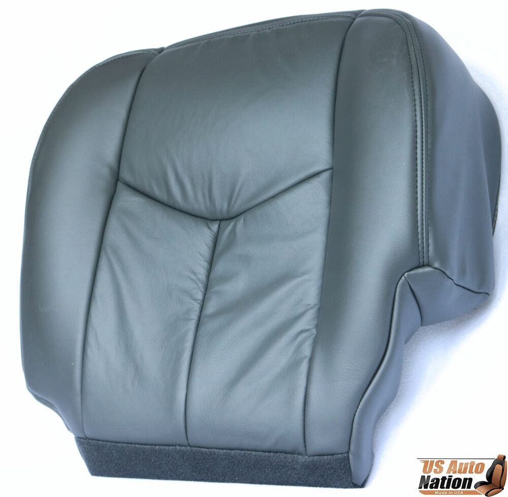 2003 2004 2005 2006 chevy silverado driver bottom seat cover dark gray vinyl ebay. Black Bedroom Furniture Sets. Home Design Ideas