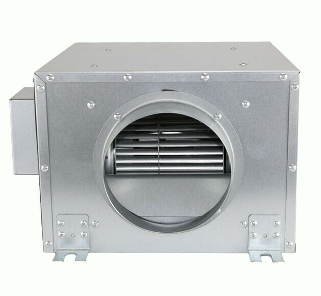 Grow Box Fans : Hydroponics silent quot inch mm m h grow room