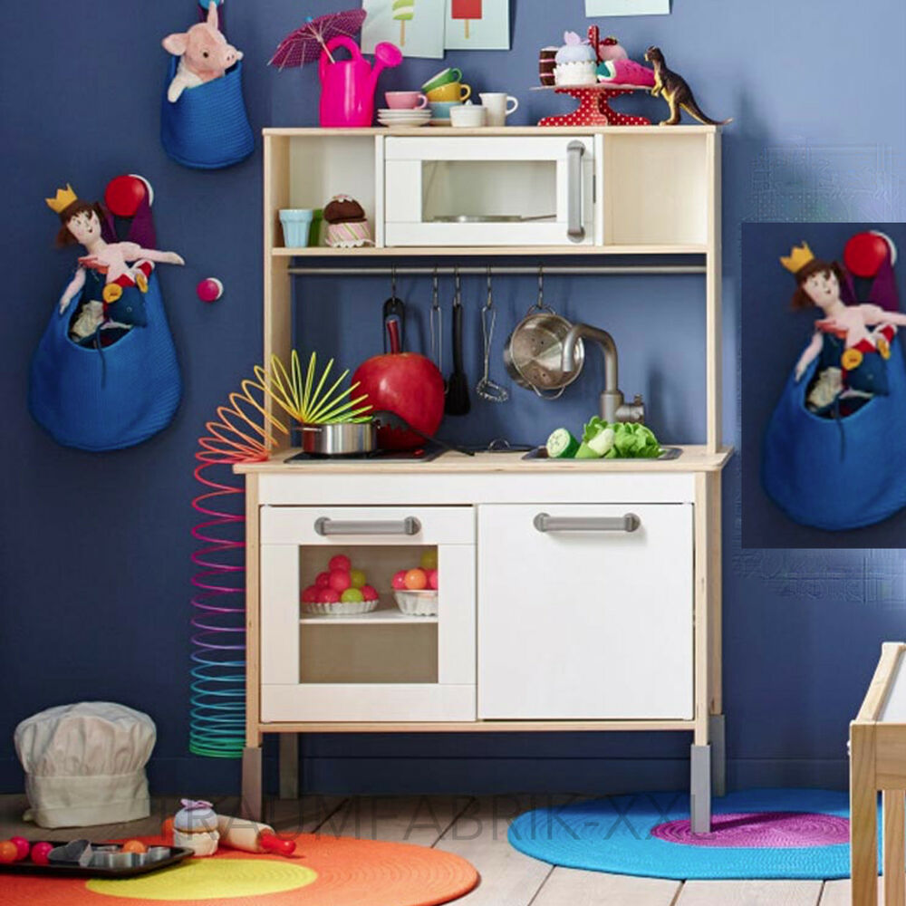 ikea duktig kinderk che spielk che kinderspielk che spielzeugk che mini k che ebay. Black Bedroom Furniture Sets. Home Design Ideas