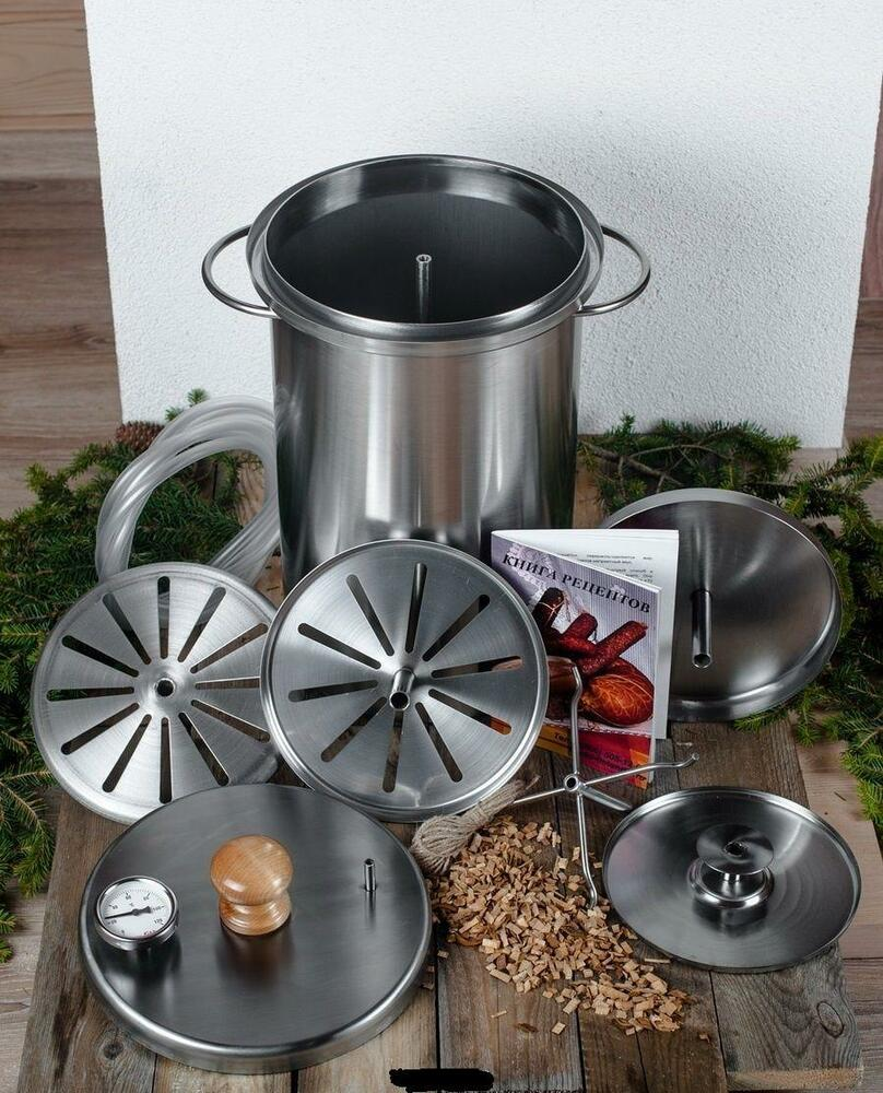 Russian smoker hanhi meat fish indoor stainless steel