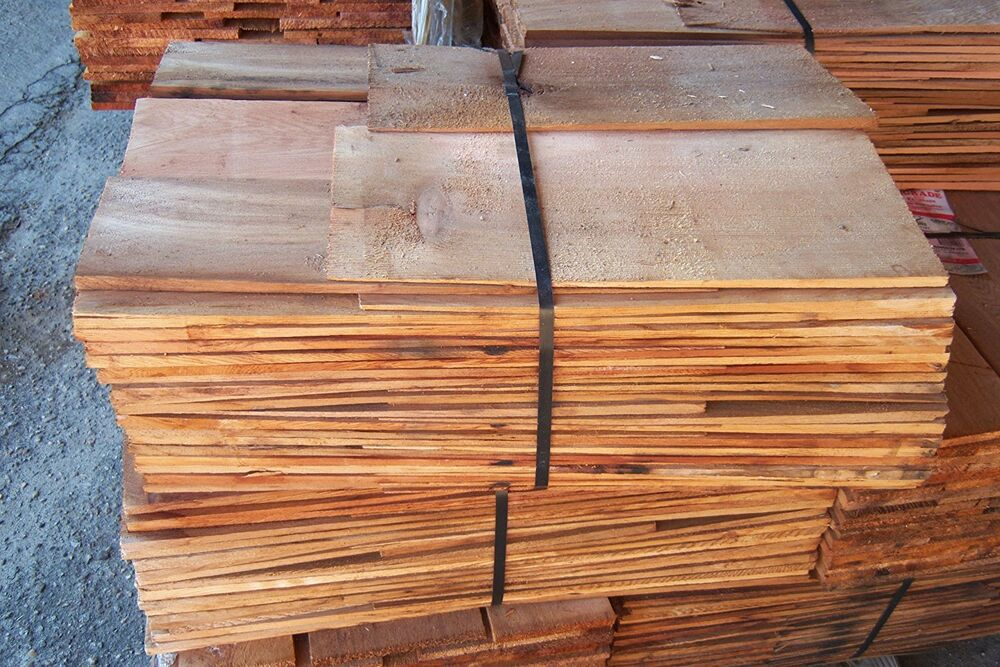 Western Red Cedar Shingles Red Label In Contractor Packs