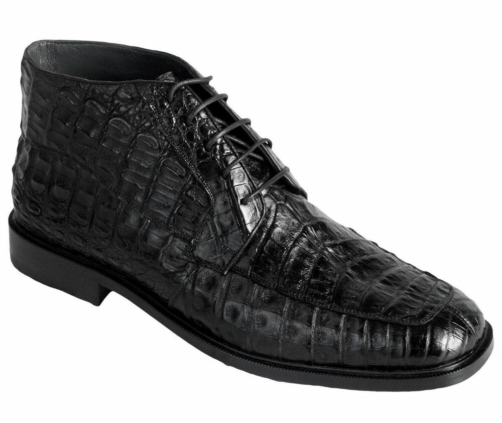 Mens Crocodile Dress Shoes And High Ankle Boots