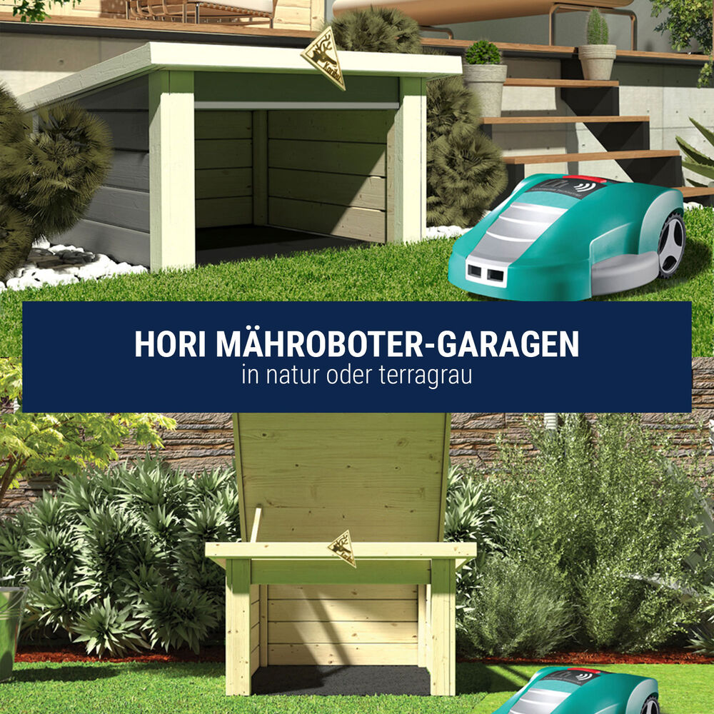 hori garage f r m hroboter ger tehaus schuppen 770x730 mm ebay. Black Bedroom Furniture Sets. Home Design Ideas