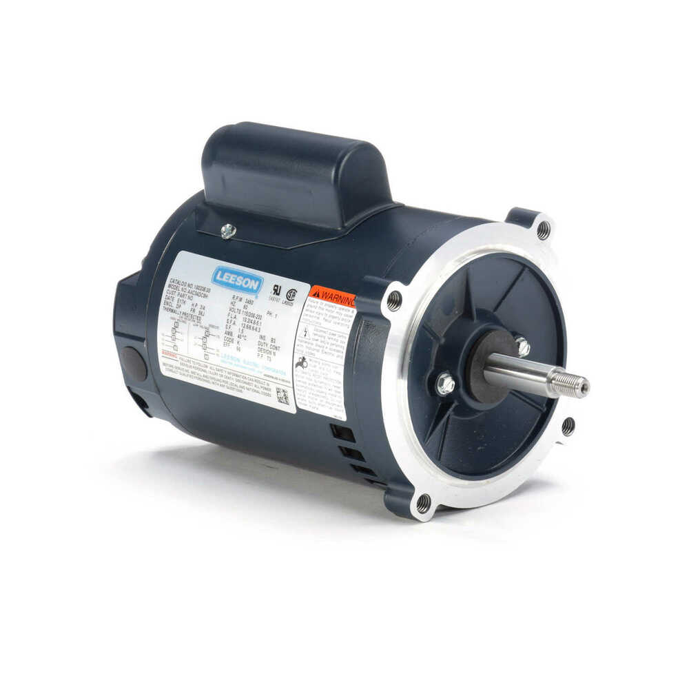 Leeson electric motor 3 4 hp 3450 rpm 1ph 115 for 3 4 hp electric motor