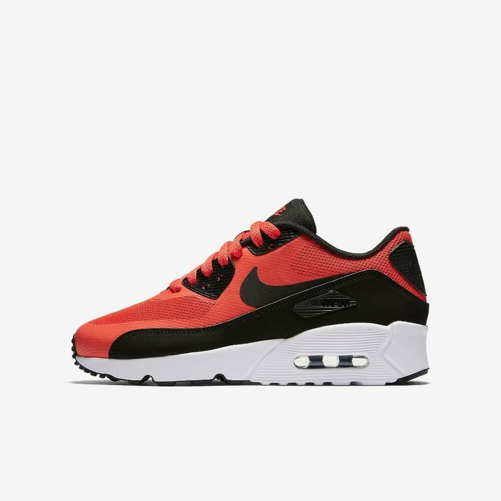 online store 64312 49350 Details about NIKE AIR MAX 90 ULTRA 2.0 GS 869950 800 MAX ORANGE BLACK-WHITE  - BIG KIDS SHOES