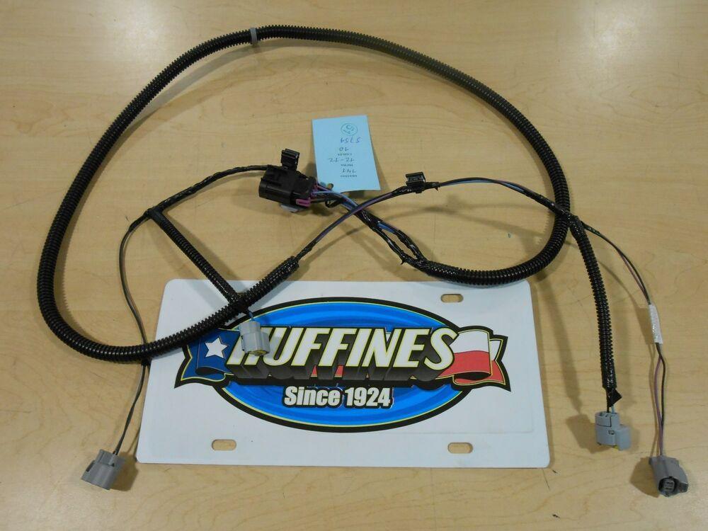 New Oem New Fog Lamp Wiring Harness