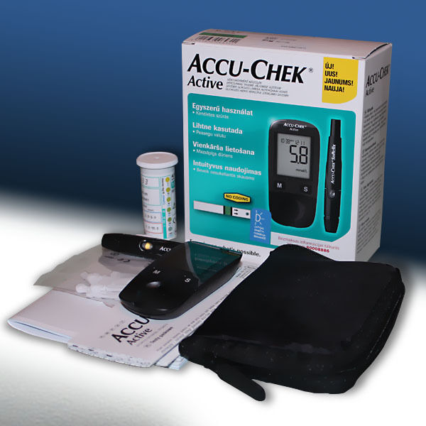 how to use accu chek active glucose meter