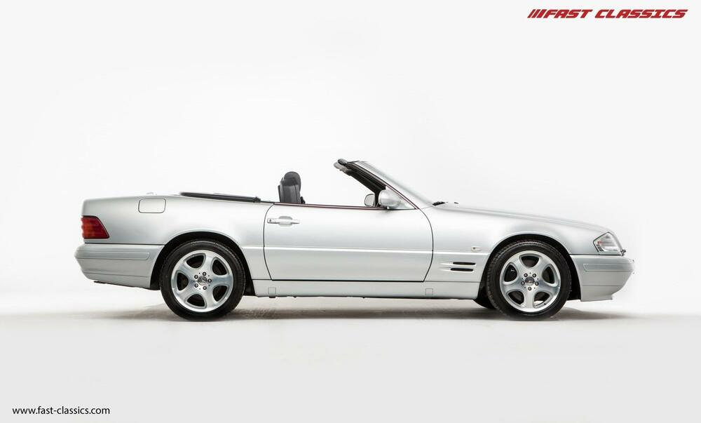 Mercedes Benz Sl320 Brilliant Silver 2000 Ebay