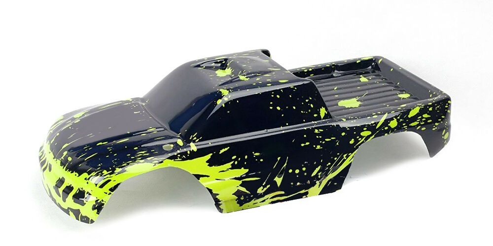 traxxas stampede muddy monster body 1 10 truck car shell cover tra3617 ebay. Black Bedroom Furniture Sets. Home Design Ideas