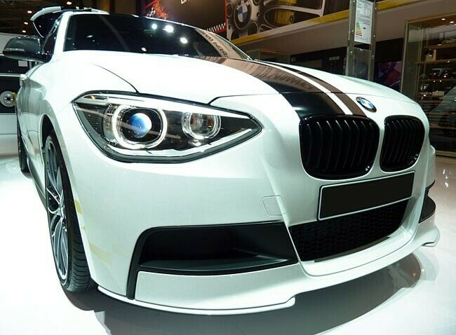 bmw s rie 1 f20 f21 calandre m performance haricot grille noir mat 2011 2014 ebay. Black Bedroom Furniture Sets. Home Design Ideas
