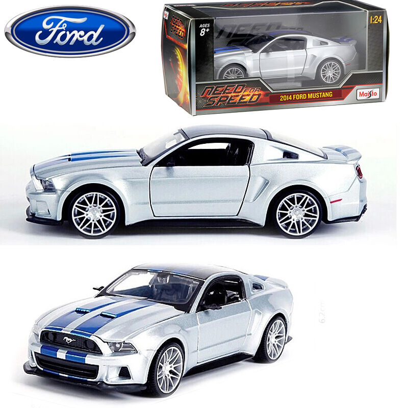 1:24 Maisto 2014 Ford Mustang Need For Speed Diecast
