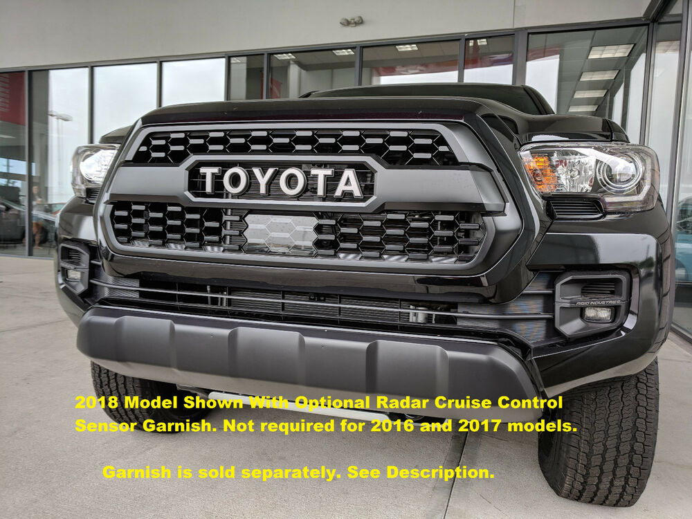 Genuine Oem New Toyota Tacoma 2016 2018 Trd Pro Black