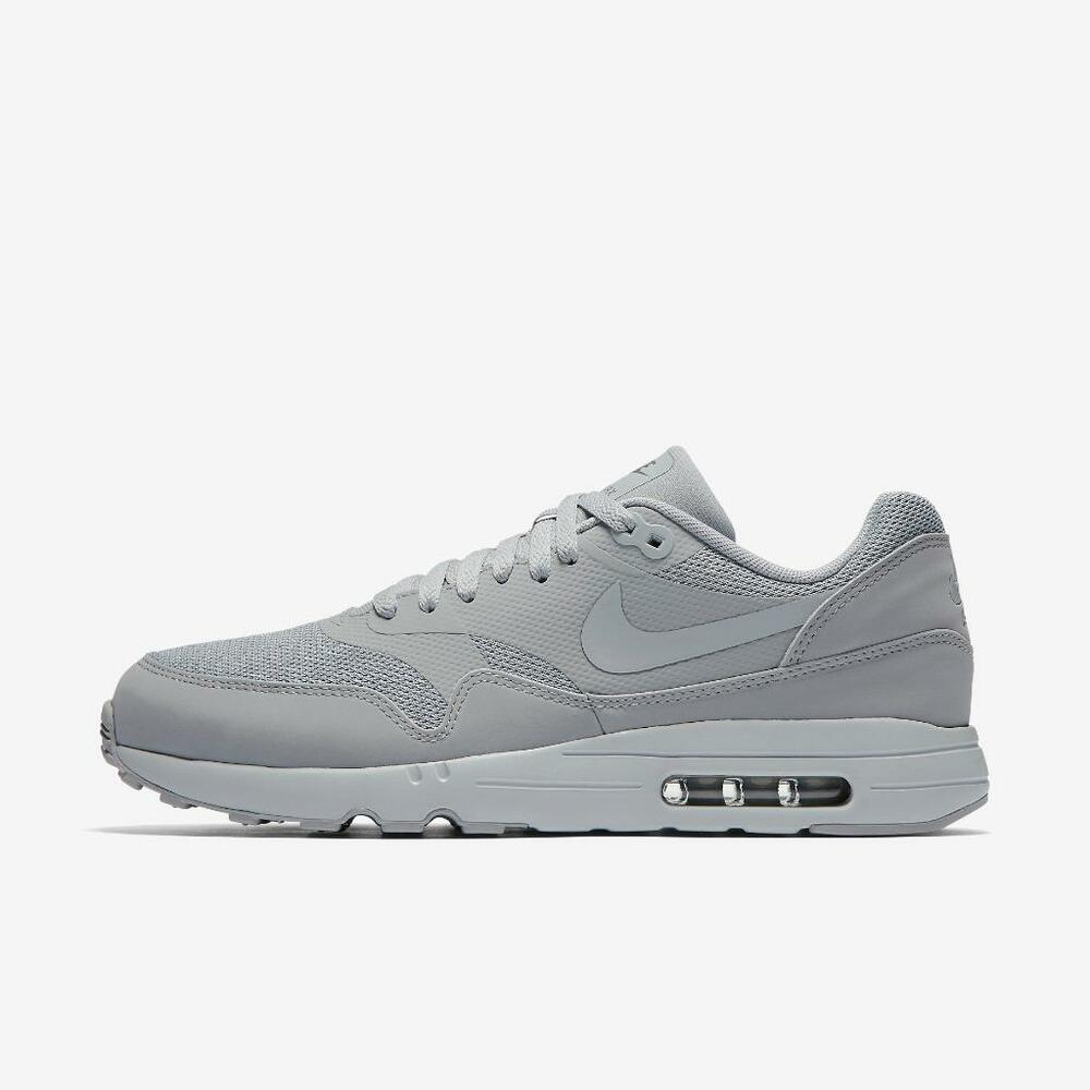 b5730c7e91 Details about NIKE AIR MAX 1 ULTRA 2.0 ESSENTIAL 875679 001 WOLF GREY/PURE  PLATINUM-DARK GREY