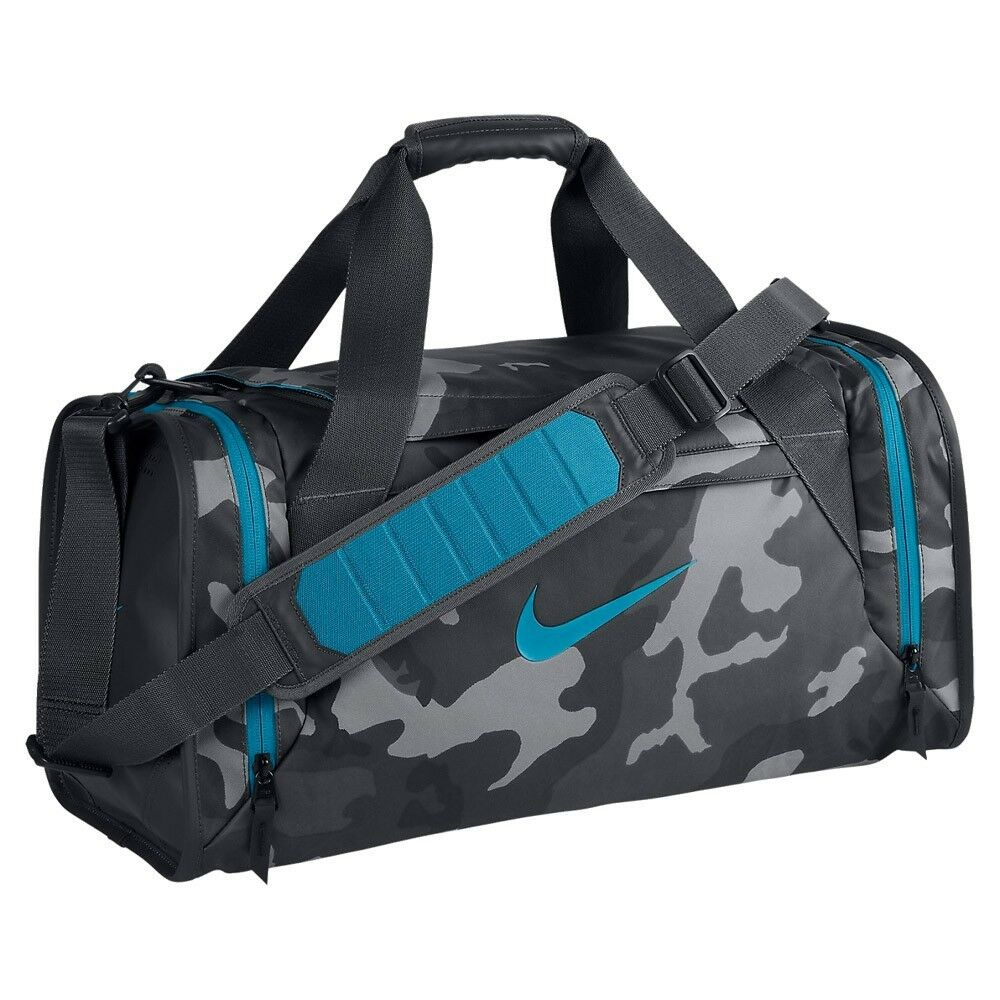 NIKE NEW ULTIMATUM GRAPHIC DUFFEL BAG ANTHRACITE,BLUE