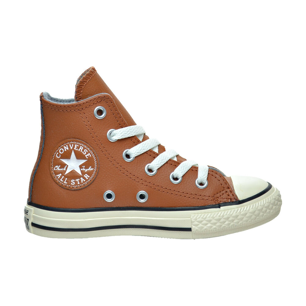 2b3374a186a8 Details about Converse Chuck Taylor All Star Hi Little Kid s Shoes Antique  Sepia Egret 354399c