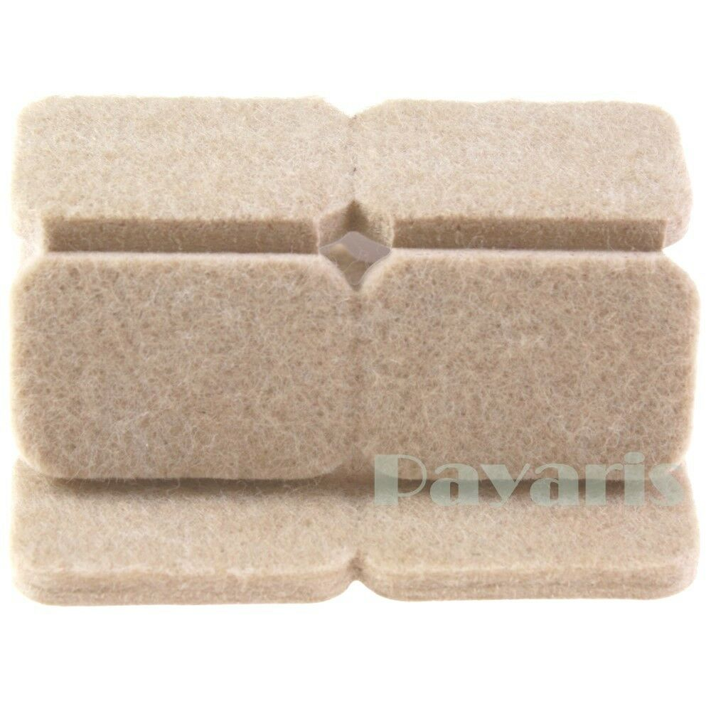 Self Adhesive Rectangle Felt Pads Furniture Floor Scratch