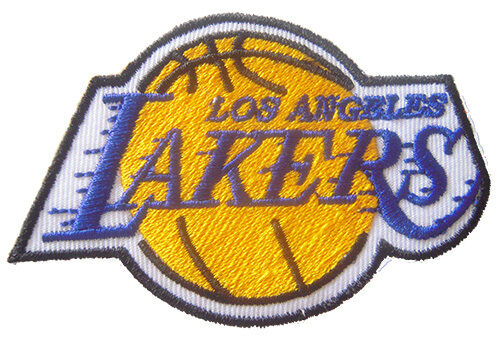 New NBA Los Angeles LA Lakers Logo Embroidered Iron On