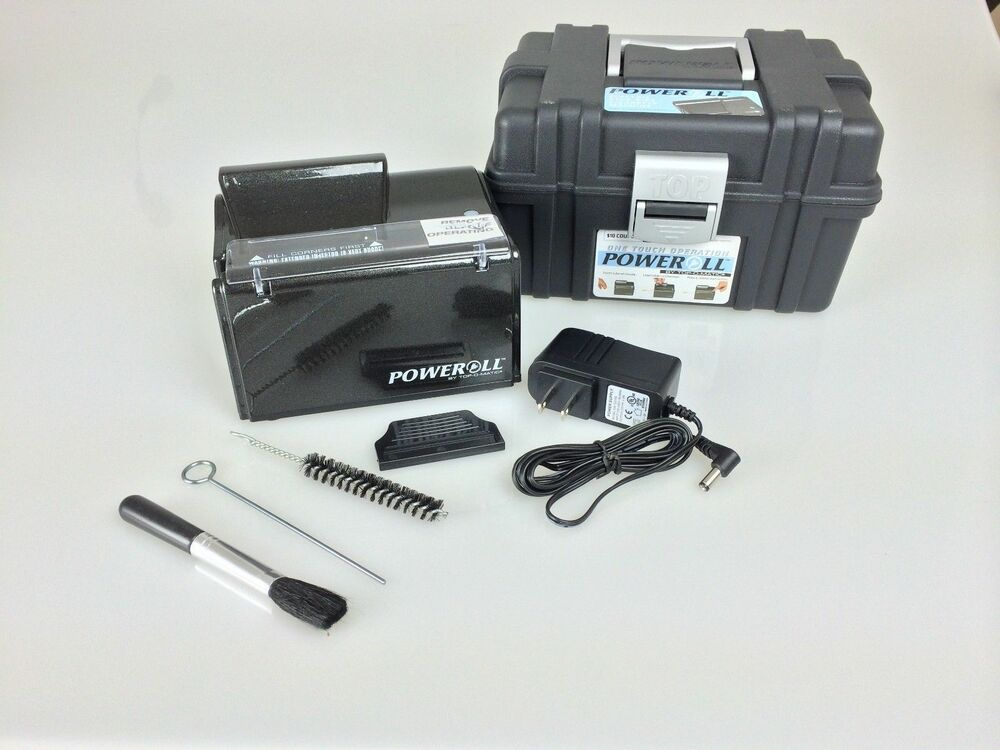 Poweroll Electric Cigarette Rolling Maker Injector Machine ...