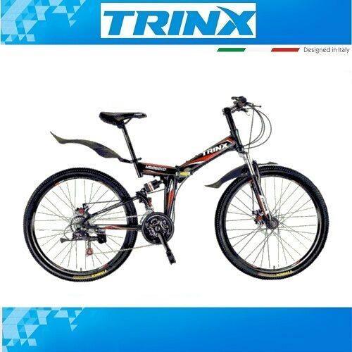 fahrrad mountainbike klapprad trinx striker mtb 26 zoll. Black Bedroom Furniture Sets. Home Design Ideas