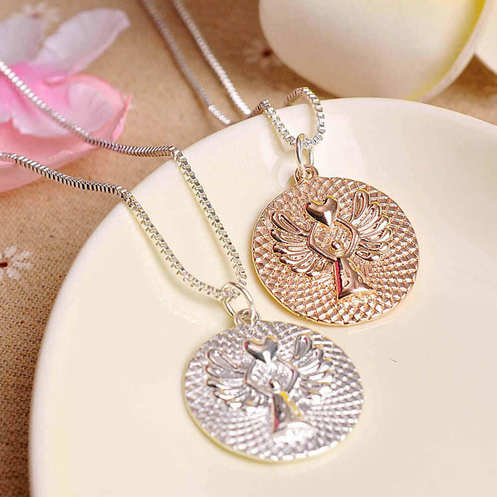 Love Letters Necklace Gold