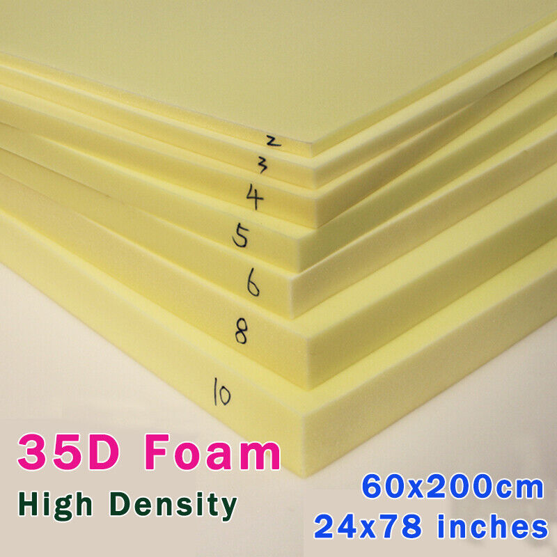 Foam Rubber Slab High Density Foam Upholstery Foam Seat