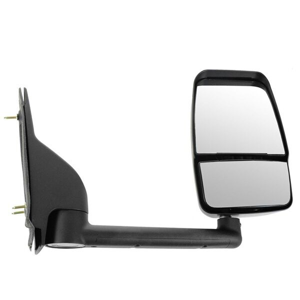 03-17 Chevy Express Savana Van Textured Black Manual Tow Mirror Right Passenger