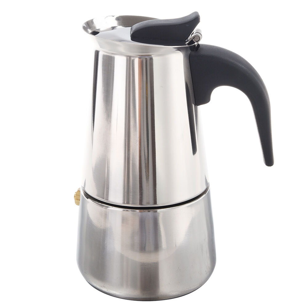 100ml stainless steel coffee maker percolator stove top for Best coffee percolator