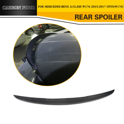 Car Rear Boot Spoiler Lip Wing Fit For Mercedes Benz W176 A180 A200 A250 13-17