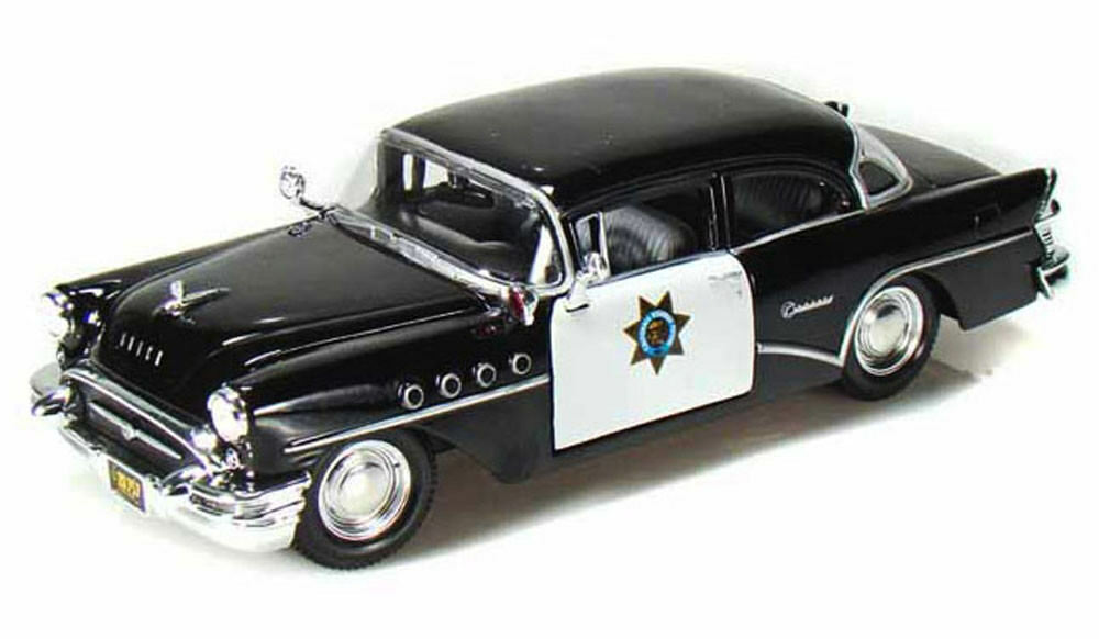 1955 Buick Century California Highway Patrol Car Maisto