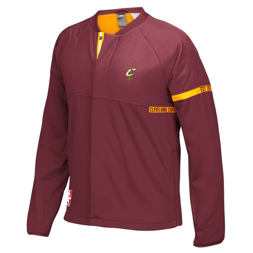 Denver Nuggets Adidas On Court Warm Up Jacket: Cleveland Cavaliers Adidas 2016 NBA Men's On-Court Warm-Up