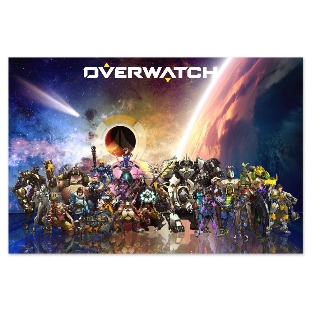 Overwatch Posters and Art Prints - The World Needs Heroes ...