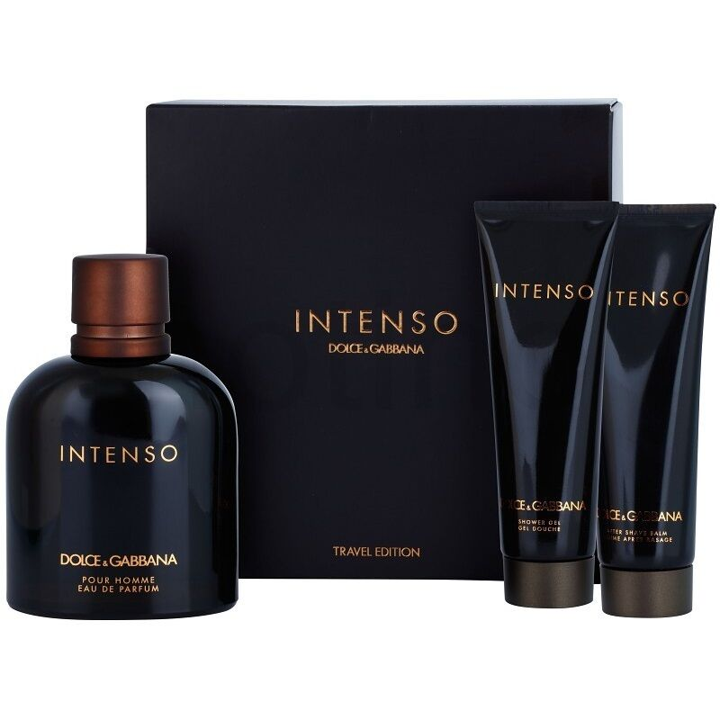 38bf4718766920  Dolce   Gabbana Pour Homme Intenso 125ml EDP Spray Travel Edition Gift Set