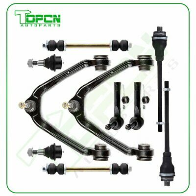 10 x Front Upper Control Arm Lower Ball Joint Tie rod For 04 GMC Sierra 1500 4WD