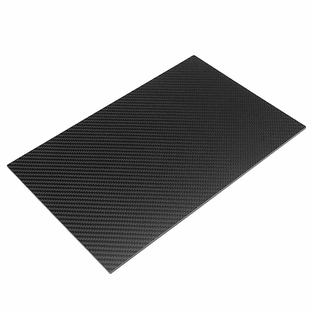 3mm 100% 3k Carbon Fiber Panel Sheet Plate 200x300x3mm Zero Fiberglass  650415923137 | eBay