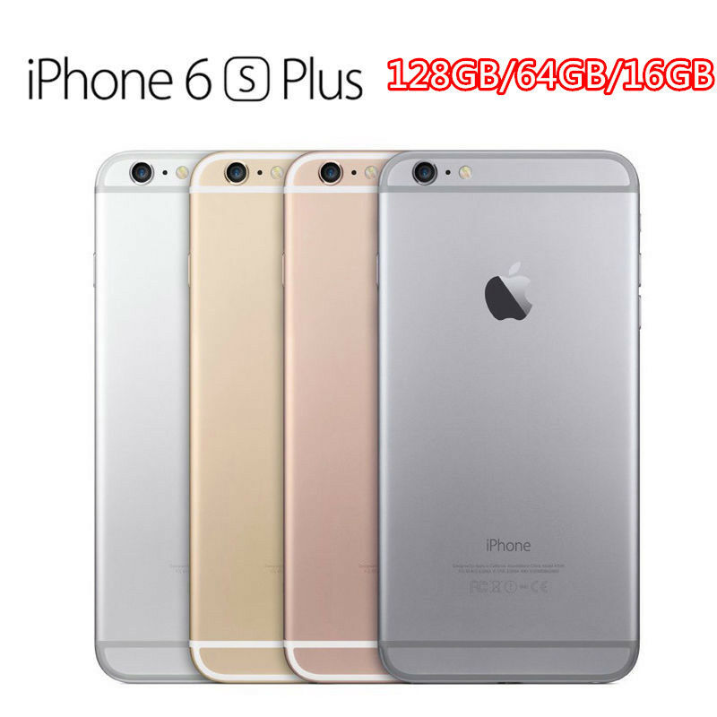unlocked apple iphone 6s plus 6 5s 128gb 64g 16g all color no finger smartphone ebay. Black Bedroom Furniture Sets. Home Design Ideas