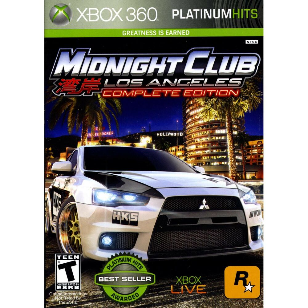 Midnight Club Los Angeles Complete Edition Xbox  Brand New - Midnight club los angeles map expansion