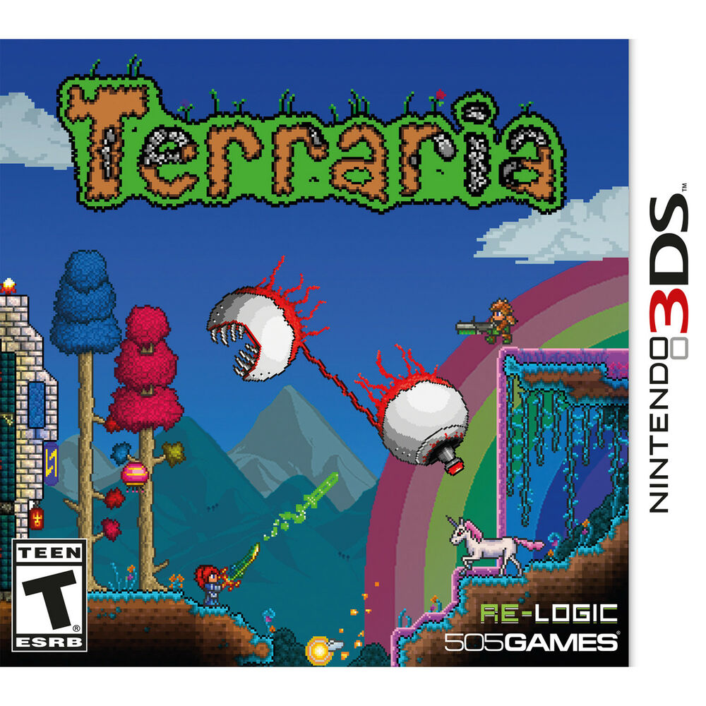 Terraria 3ds Brand New 812872018553 Ebay Wiring Guide