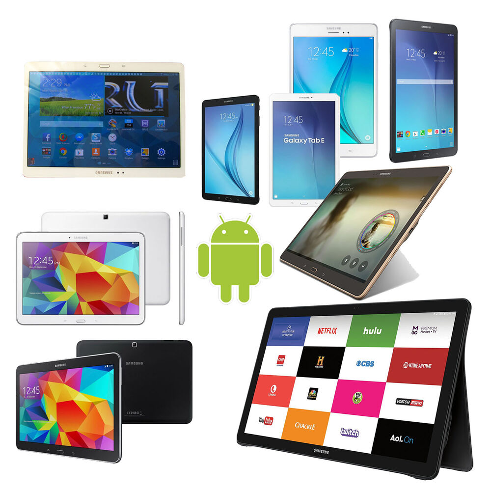New Samsung Galaxy Android Tablet