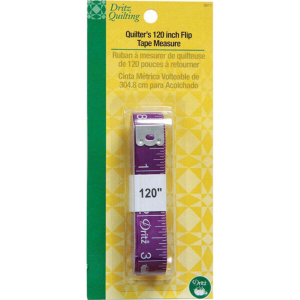Dritz 3011  Quilting Quilter's Flip Tape Measure-120