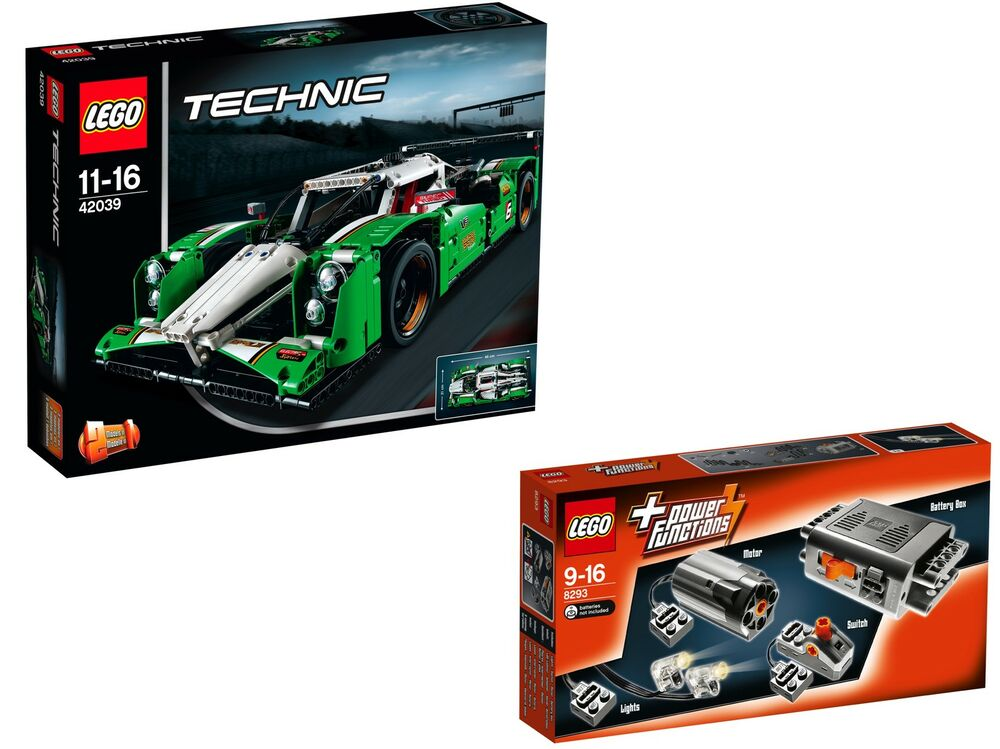 lego technic 42039 8293 24 hours race car power functions. Black Bedroom Furniture Sets. Home Design Ideas