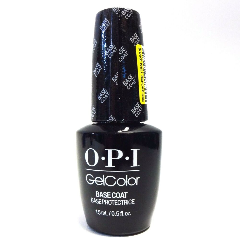 Gel Nail Polish Sale: OPI GelColor Soak Off Nail Polish Gel Color Base Coat .5oz