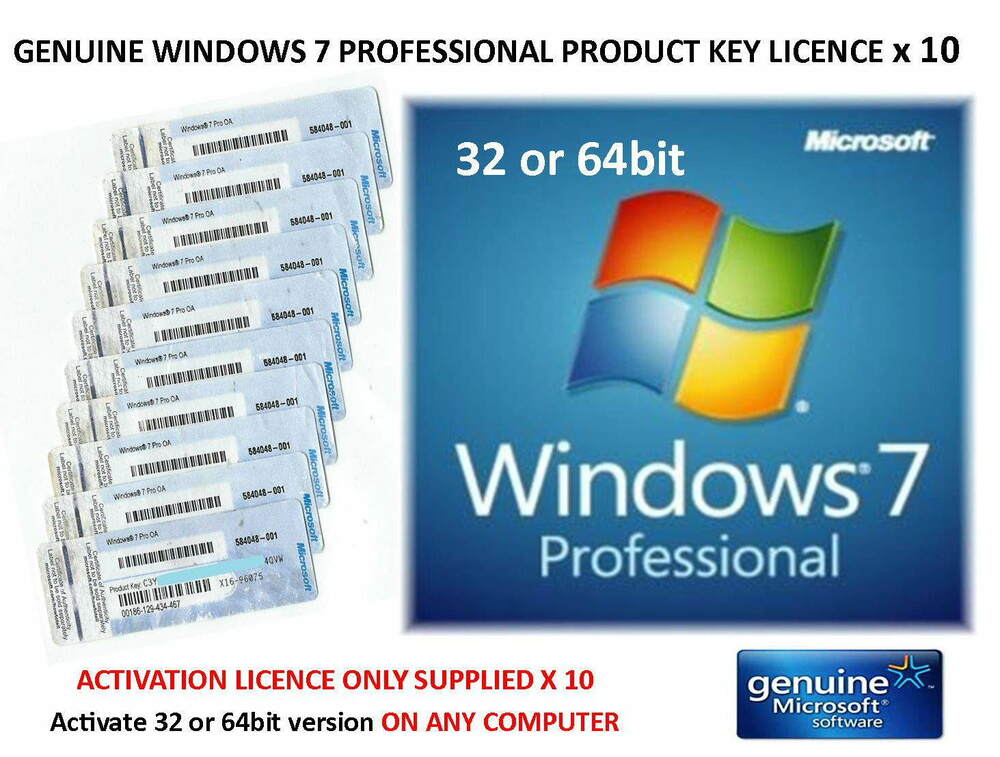 windows 7 professional product id