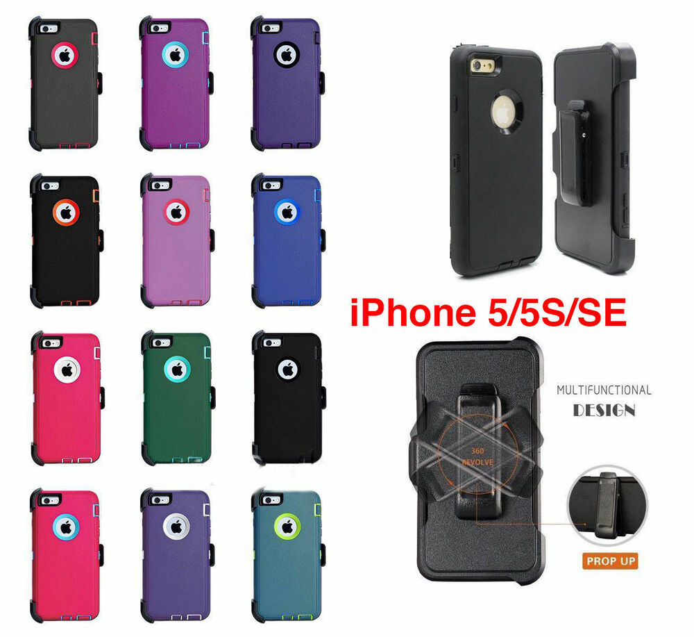 cases for iphone 5c ebay for iphone 5 5s se amp screen protector belt clip 16774