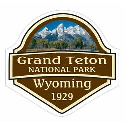 Grand Teton National Park Sticker Decal R1083 Wyoming YOU CHOOSE SIZE