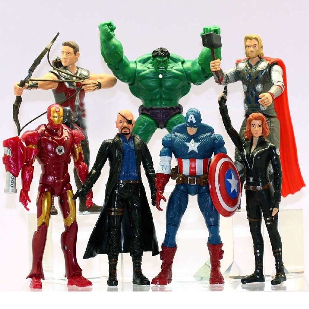 Avengers Thor Hulk Iron Man Captain