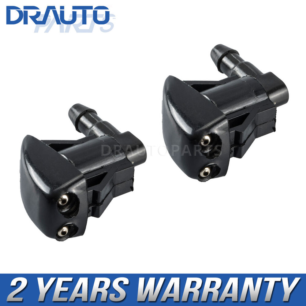 Pair front windshield washer nozzle for ford edge lincoln