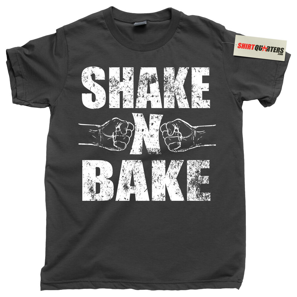 f119df03 Details about Shake and Bake Talladega Nights: The Ballad of Ricky Bobby  movie USA Tee T Shirt