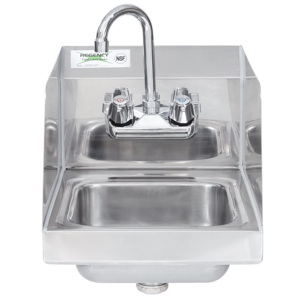 12 Quot X 16 Quot Wall Mount Nsf Hand Wash Sink Commercial