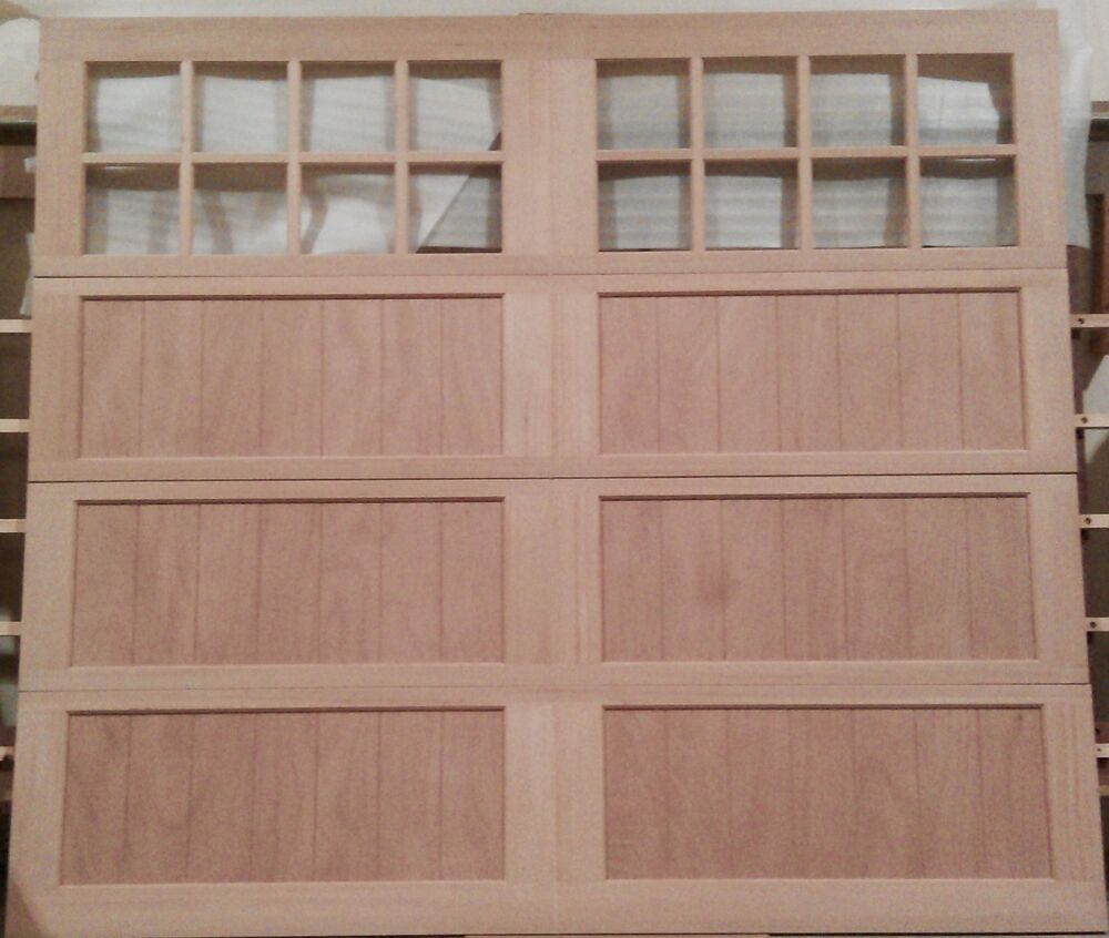 wood garage doors overhead carriage house design 9x8 amanadoors model 103w16